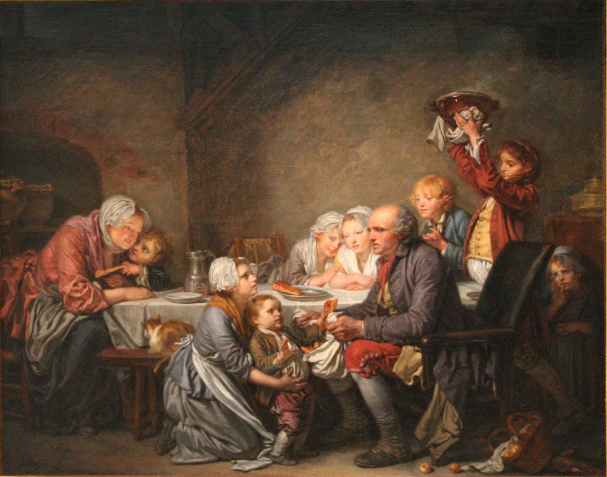 Peinture Galette des rois