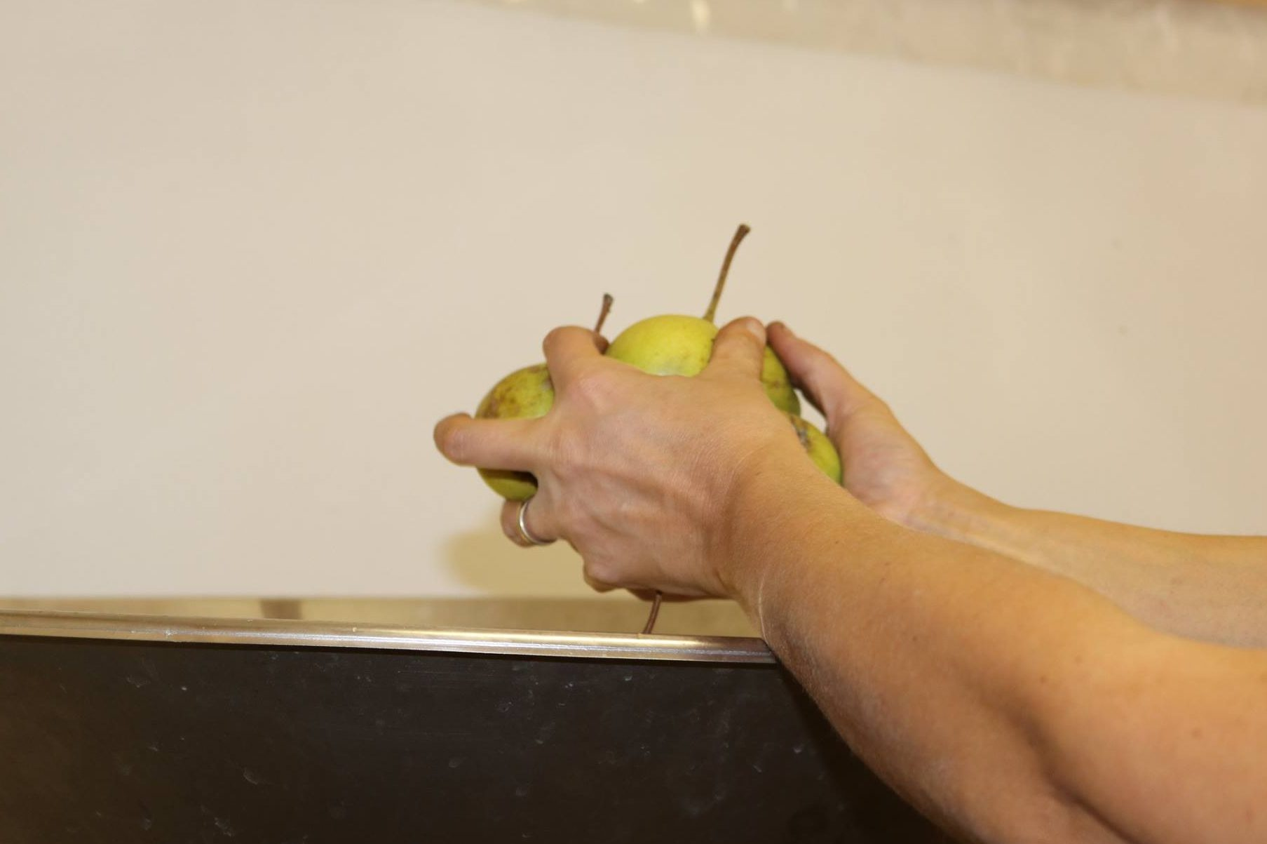 Production savurett pommes et poires
